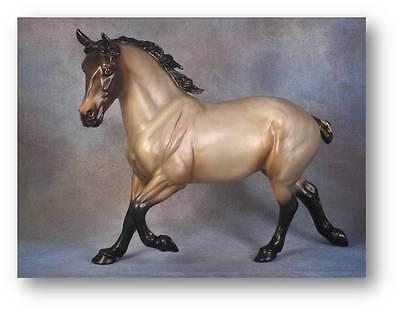 Limited Edition Breyer Horses Mid States Brabant 701227 Bay Roan Draft Horse NIB