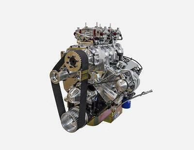 - 400 Supercharged Small Block Chevy Stroker Crate Engine Dart Block 650HP TURNKEY