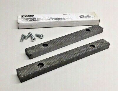 Teq Correct 1808pv Bench Vise Jaw Plate Kit 8m Series