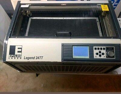 Epilog Laser 24 Tt Legend 45w Laser Engraver Engraving Machine Universal Trotec