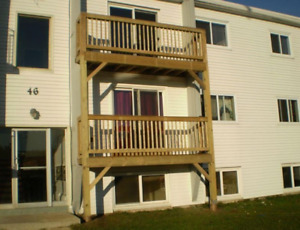 2-Bedroom Apt, Balcony apt, with deck, $780 heat and lights