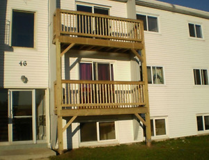 3rd floor with view and deck Upper West $695 heated