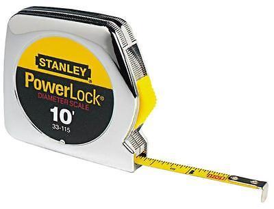 Stanley Tools Powerlock Tape Rule, 1/4 x 10ft, Plastic Case,