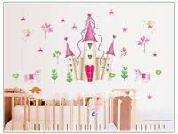 Castle home decoration wall stickers