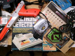 Various retro electeonic games