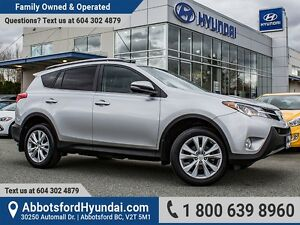 2013 Toyota RAV4 Limited CERTIFIED ACCIDENT FREE & ONE OWNER
