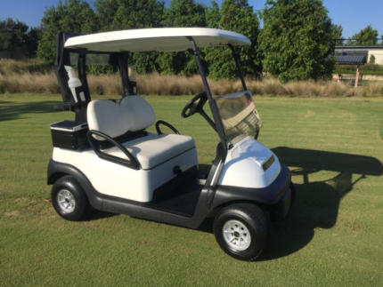 2014 White Club Car Precedent 48V Electric Golf Cart Buggy