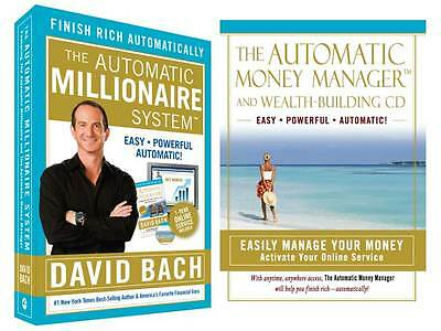Automatic Millionaire Book Software +1yr David Bach