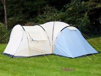 Skandika Toronto 8 Man Tent Large Camping Dome 8 Person Family Group Outdoor Canopy