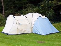 Skandika Toronto 8 Person/Man Tent Large Camping Dome Family Group Outdoor Canopy