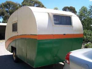 Vintage 1948 Botterill & Fraser Caravan Lang Lang Cardinia Area Preview
