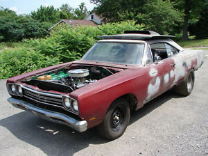 1968 plymouth roadrunner project