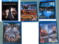 BLU-RAY dvd MOVIES GREAT CONDITION