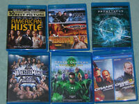BLU-RAY MOVIES GREAT CONDITION, CHEAP PRICES