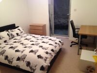 Double room in spacious 3 bed flat