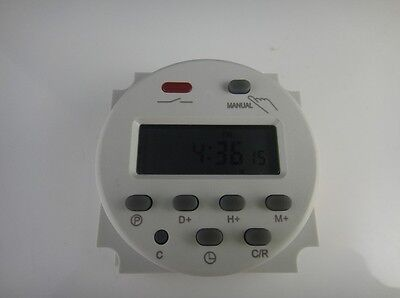 Cn101a Ac 110v Digital Lcd Power Programmable Timer Time Switch Relay 16a