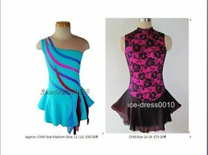 Figure Skating dresses Size Child Medium to Adult Small Campbell River Comox Valley Area image 2