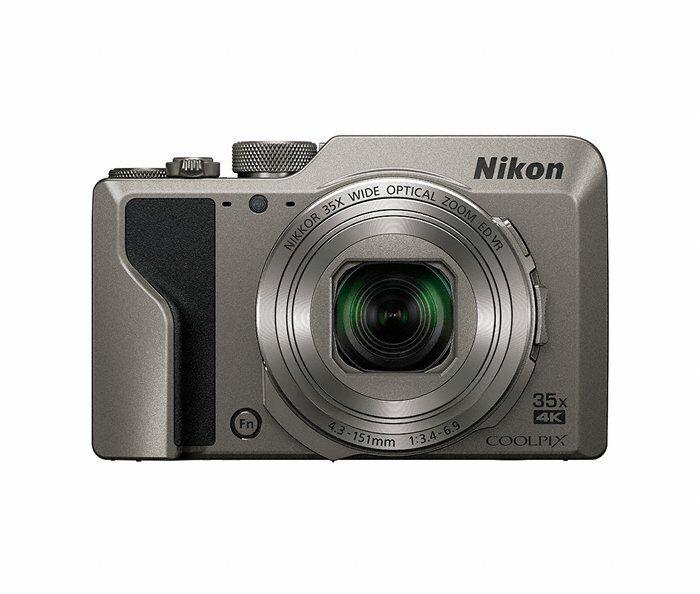 Nikon Coolpix A1000 20.1 MP Point & Shoot Digital Camera, Silver