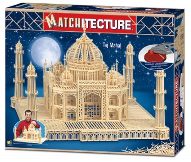 Taj Mahal matchstick model craft Kit Matchitecture