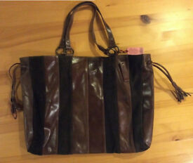 East Additions genuine brown leather shoulder bag Brand new, never used with labels