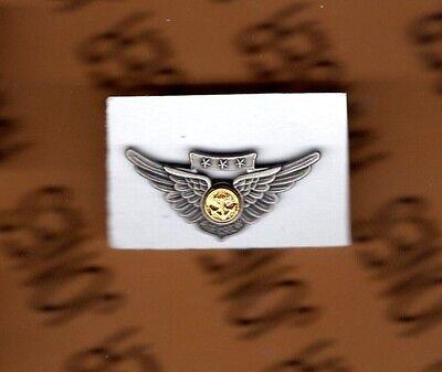 USMC Marine Corps Combat Aircrew Aviation flight mini Badge 1 inch