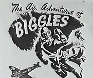 *** AIR ADVENTURES OF BIGGLES - 61 Radio Shows on MP3 CD *** (OTR)