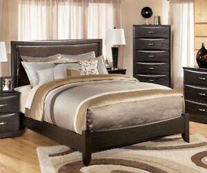 Brand new queen size bed w/o mattress and spring box form Ashley