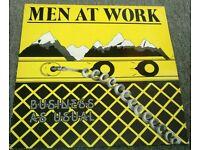 MEN AT WORK: VINYL ALBUM