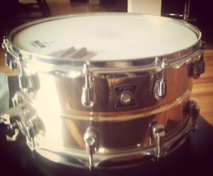 Cymbals and snare drum