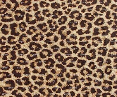 Real Cheetah Print ~ Frosting Sheet Birthday Cake Topper ~ Edible ~ D1336](Cheetah Print Cake)