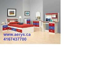 WHOLESALE FURNITURE HUGE SALE!!!!CALL US AT 4167437700----WWW.AERYS.CA bed only starts from $96