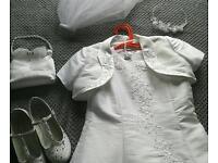 Stunning White Communion Dress