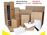 Packaging materials removals boxes available, wardrobe boxes removal kit, bubble rolls, tape