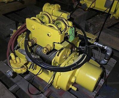 Yale Baw1-32rt25s2 Pneumatic Hoist 2000 Lb 1 Ton Capacity 25 Fpm Speed