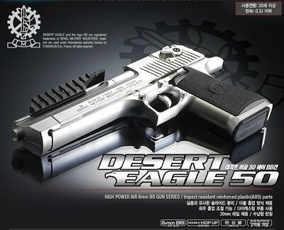 ACADEMY Desert Eagle 50  Airsoft Pistol BB Gun 6mm Hand Grips Toy