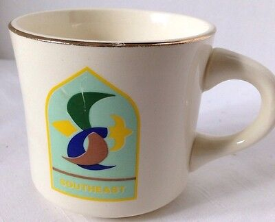Vintage Boy Scouts of America BSA SOUTHEAST MUG Coffee Cup Jamboree