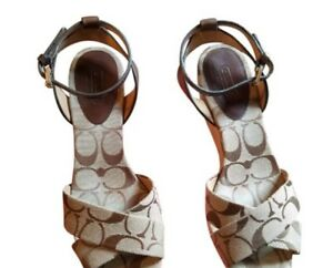 Coach wedge sandals 6