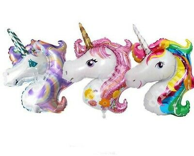 Mini Unicorn Rainbow Foil Party Balloon Unicorns Party Supply US (Mini Foil Balloons)