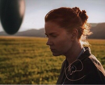 Amy Adams Arrival Autographed Signed 8X10 Photo Coa  2