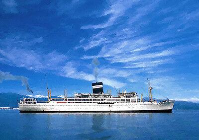 SS UGANDA - HAND FINISHED, LIMITED EDITION (25)