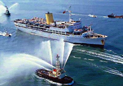 SS UGANDA '82 Return' - HAND FINISHED, LIMITED EDITION ART (25)