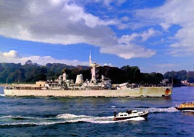 HMS PENELOPE '82 Return' - HAND FINISHED, LIMITED EDITION ART (25)