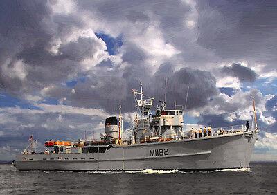 HMS SHOULTON - LIMITED EDITION ART (25)