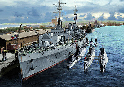 HMS ADAMANT - HAND FINISHED, LIMITED EDITION (25)