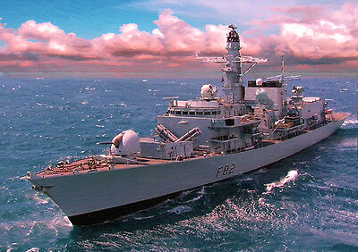 HMS SOMERSET - HAND FINISHED, LIMITED EDITION (25)