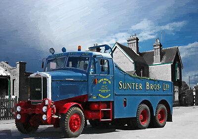 AUTOMOTIVE ART - SCAMMELL JUNIOR CONSTRUCTOR 1964 LIMITED EDITION (25)