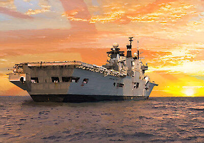 "HMS ILLUSTRIOUS - ""So Long Lusty"" - HAND FINISHED, LIMITED EDITION (25)"