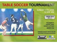 London Road Subbuteo Club Tournament in North Wales