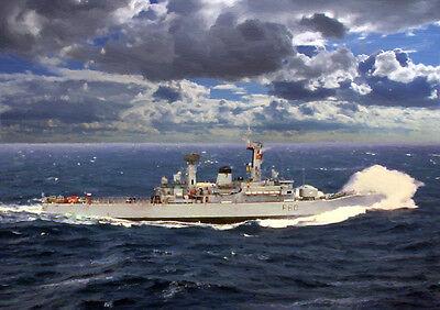 HMS JUPITER - HAND FINISHED, LIMITED EDITION (25)