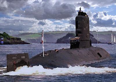 HMS SPLENDID '82 Return' - HAND FINISHED, LIMITED EDITION ART (25)